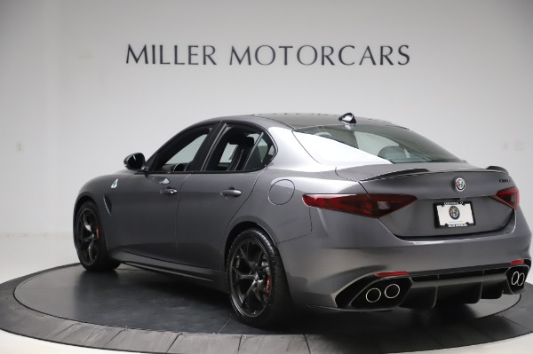 New 2020 Alfa Romeo Giulia Quadrifoglio for sale $87,445 at Rolls-Royce Motor Cars Greenwich in Greenwich CT 06830 5