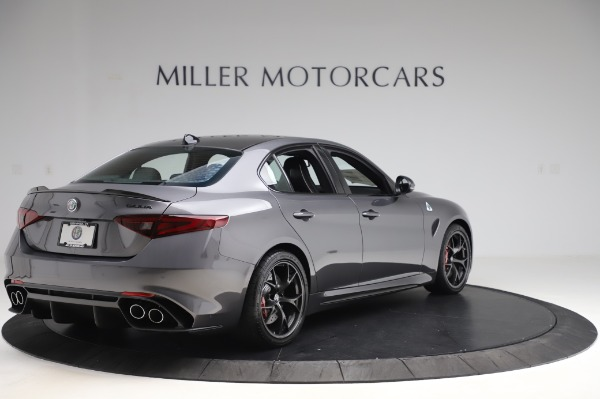 New 2020 Alfa Romeo Giulia Quadrifoglio for sale $87,445 at Rolls-Royce Motor Cars Greenwich in Greenwich CT 06830 7