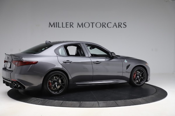 New 2020 Alfa Romeo Giulia Quadrifoglio for sale $87,445 at Rolls-Royce Motor Cars Greenwich in Greenwich CT 06830 8
