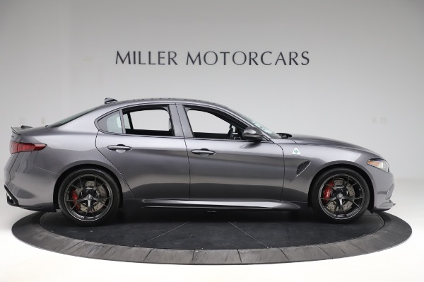 New 2020 Alfa Romeo Giulia Quadrifoglio for sale $87,445 at Rolls-Royce Motor Cars Greenwich in Greenwich CT 06830 9