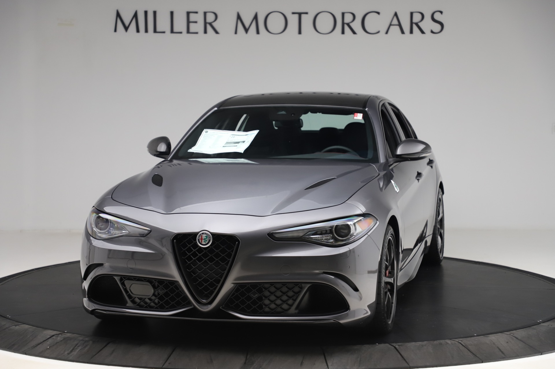 New 2020 Alfa Romeo Giulia Quadrifoglio for sale $87,445 at Rolls-Royce Motor Cars Greenwich in Greenwich CT 06830 1