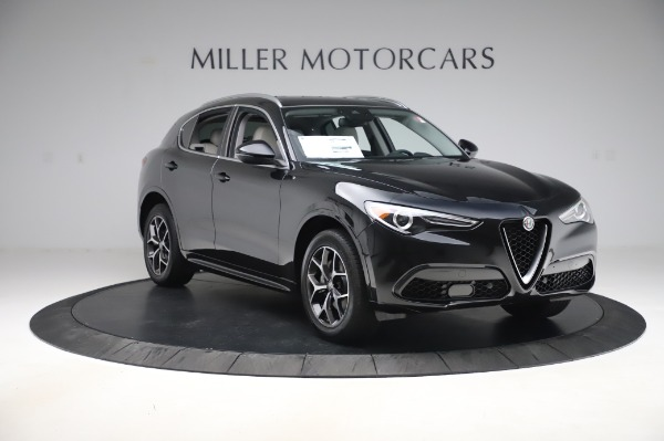 New 2020 Alfa Romeo Stelvio Ti Q4 for sale $50,895 at Rolls-Royce Motor Cars Greenwich in Greenwich CT 06830 11