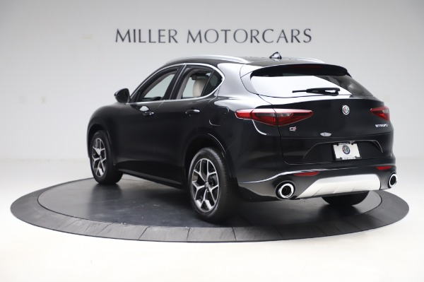 New 2020 Alfa Romeo Stelvio Ti Q4 for sale $50,895 at Rolls-Royce Motor Cars Greenwich in Greenwich CT 06830 5