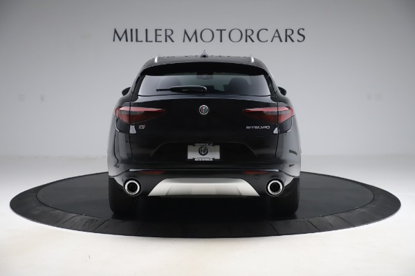 New 2020 Alfa Romeo Stelvio Ti Q4 for sale $50,895 at Rolls-Royce Motor Cars Greenwich in Greenwich CT 06830 6