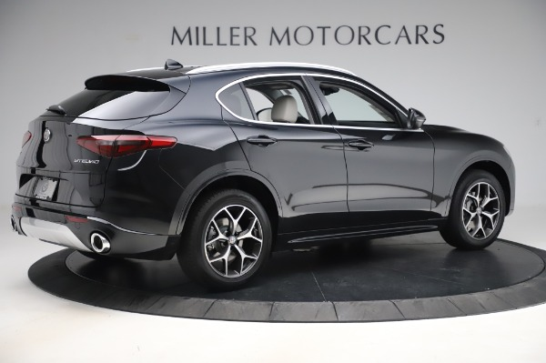 New 2020 Alfa Romeo Stelvio Ti Q4 for sale $50,895 at Rolls-Royce Motor Cars Greenwich in Greenwich CT 06830 8
