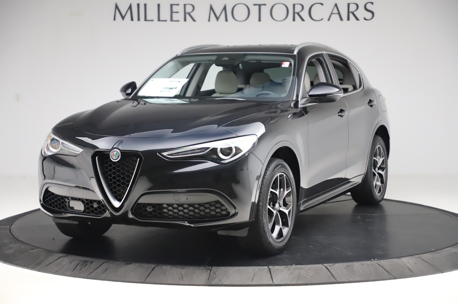 New 2020 Alfa Romeo Stelvio Ti Q4 for sale $50,895 at Rolls-Royce Motor Cars Greenwich in Greenwich CT 06830 1