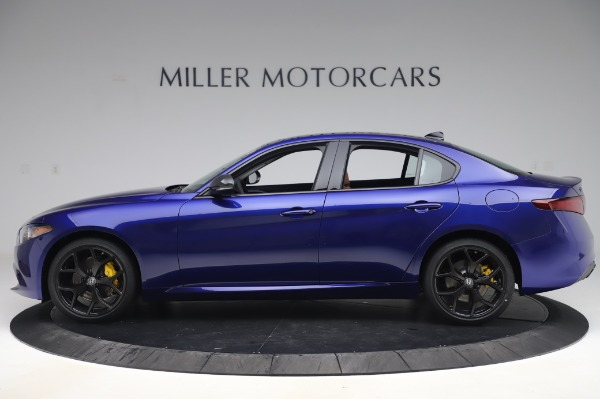New 2020 Alfa Romeo Giulia Q4 for sale $47,845 at Rolls-Royce Motor Cars Greenwich in Greenwich CT 06830 3