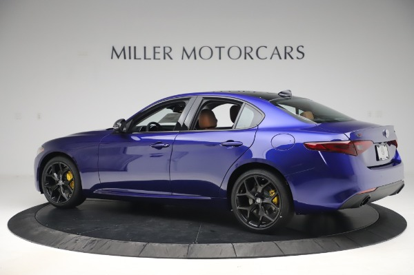 New 2020 Alfa Romeo Giulia Q4 for sale $47,845 at Rolls-Royce Motor Cars Greenwich in Greenwich CT 06830 4