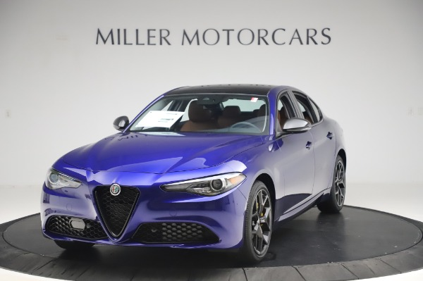 New 2020 Alfa Romeo Giulia Q4 for sale $47,845 at Rolls-Royce Motor Cars Greenwich in Greenwich CT 06830 1