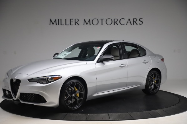 New 2020 Alfa Romeo Giulia Sport Q4 for sale Sold at Rolls-Royce Motor Cars Greenwich in Greenwich CT 06830 2