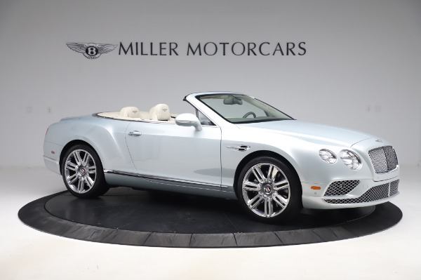 Used 2017 Bentley Continental GTC V8 for sale $156,900 at Rolls-Royce Motor Cars Greenwich in Greenwich CT 06830 10