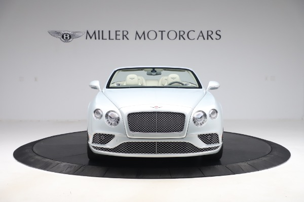 Used 2017 Bentley Continental GTC V8 for sale $156,900 at Rolls-Royce Motor Cars Greenwich in Greenwich CT 06830 12