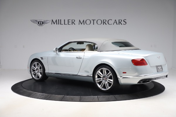 Used 2017 Bentley Continental GTC V8 for sale $156,900 at Rolls-Royce Motor Cars Greenwich in Greenwich CT 06830 15