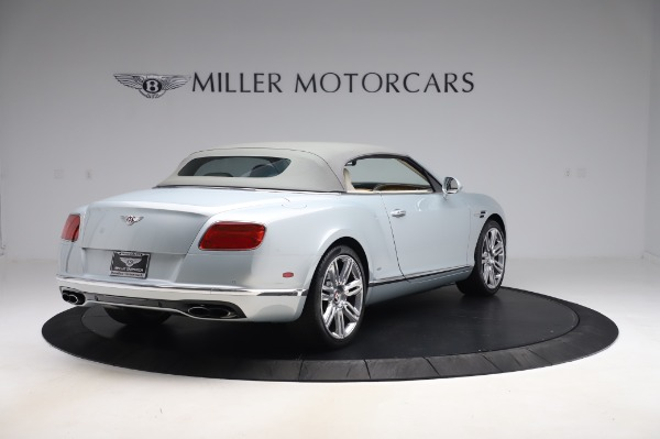 Used 2017 Bentley Continental GTC V8 for sale $156,900 at Rolls-Royce Motor Cars Greenwich in Greenwich CT 06830 16