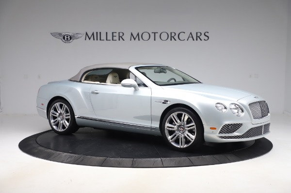 Used 2017 Bentley Continental GTC V8 for sale $156,900 at Rolls-Royce Motor Cars Greenwich in Greenwich CT 06830 18
