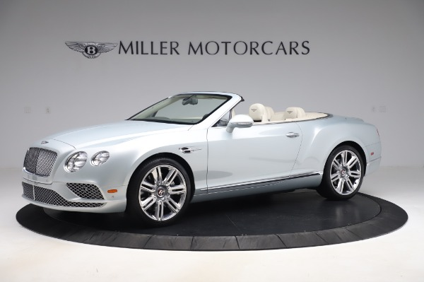 Used 2017 Bentley Continental GTC V8 for sale $156,900 at Rolls-Royce Motor Cars Greenwich in Greenwich CT 06830 2