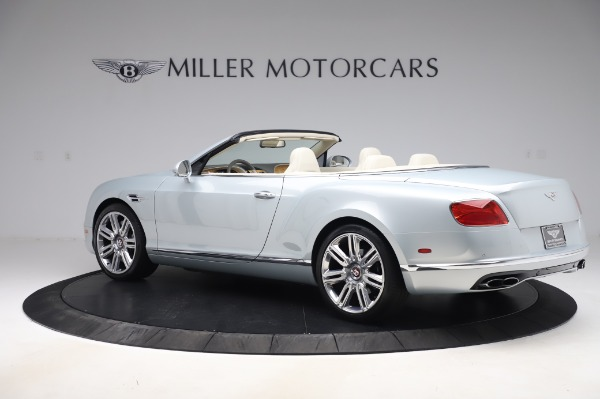 Used 2017 Bentley Continental GTC V8 for sale $156,900 at Rolls-Royce Motor Cars Greenwich in Greenwich CT 06830 4