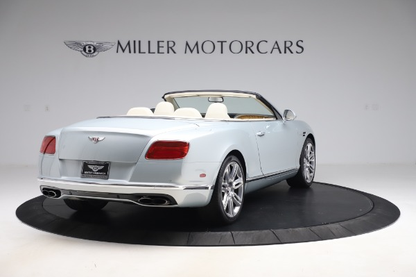 Used 2017 Bentley Continental GTC V8 for sale $156,900 at Rolls-Royce Motor Cars Greenwich in Greenwich CT 06830 7