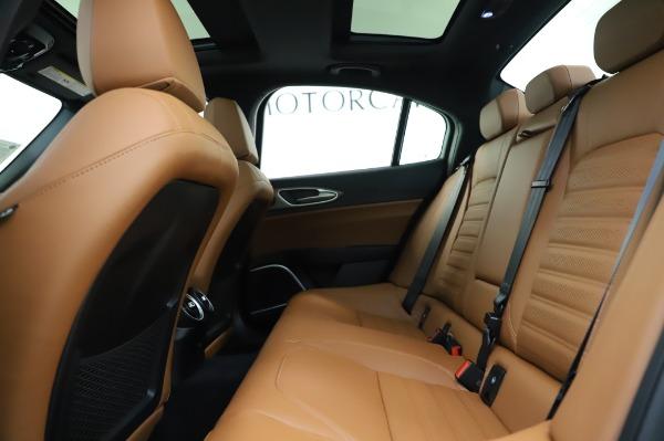 New 2020 Alfa Romeo Giulia Ti Sport Q4 for sale $51,495 at Rolls-Royce Motor Cars Greenwich in Greenwich CT 06830 19