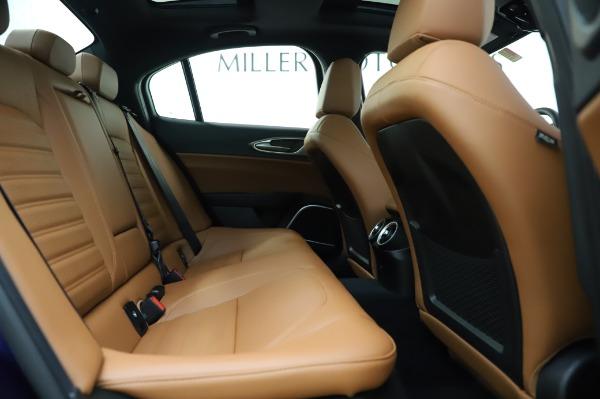 New 2020 Alfa Romeo Giulia Ti Sport Q4 for sale $51,495 at Rolls-Royce Motor Cars Greenwich in Greenwich CT 06830 27