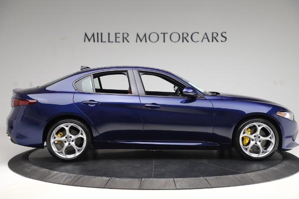 New 2020 Alfa Romeo Giulia Ti Sport Q4 for sale $51,495 at Rolls-Royce Motor Cars Greenwich in Greenwich CT 06830 9