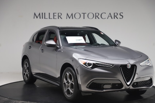 New 2020 Alfa Romeo Stelvio Sport Q4 for sale $50,945 at Rolls-Royce Motor Cars Greenwich in Greenwich CT 06830 11