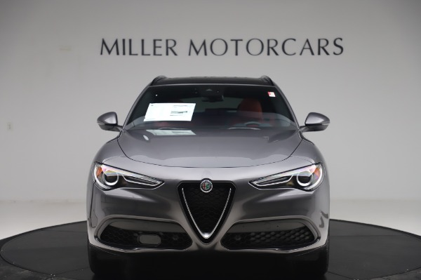 New 2020 Alfa Romeo Stelvio Sport Q4 for sale $50,945 at Rolls-Royce Motor Cars Greenwich in Greenwich CT 06830 12