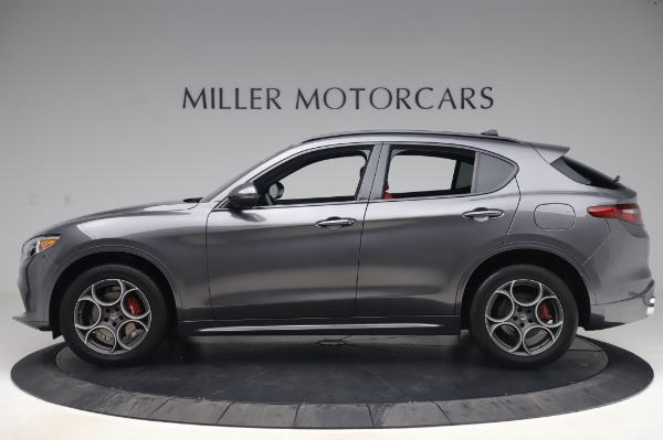 New 2020 Alfa Romeo Stelvio Sport Q4 for sale $50,945 at Rolls-Royce Motor Cars Greenwich in Greenwich CT 06830 3