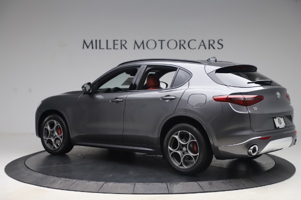 New 2020 Alfa Romeo Stelvio Sport Q4 for sale $50,945 at Rolls-Royce Motor Cars Greenwich in Greenwich CT 06830 4