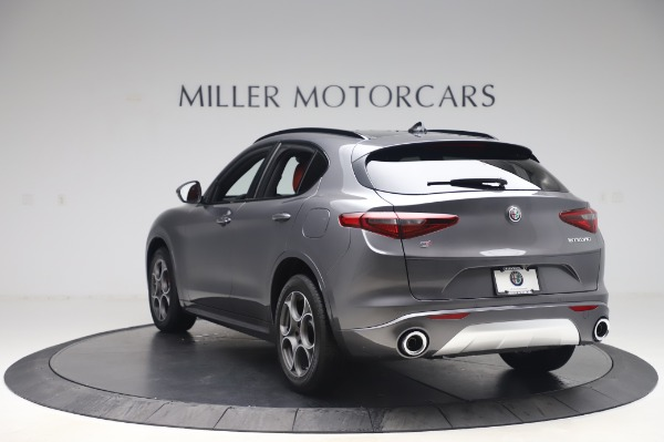 New 2020 Alfa Romeo Stelvio Sport Q4 for sale $50,945 at Rolls-Royce Motor Cars Greenwich in Greenwich CT 06830 5