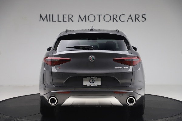 New 2020 Alfa Romeo Stelvio Sport Q4 for sale $50,945 at Rolls-Royce Motor Cars Greenwich in Greenwich CT 06830 6