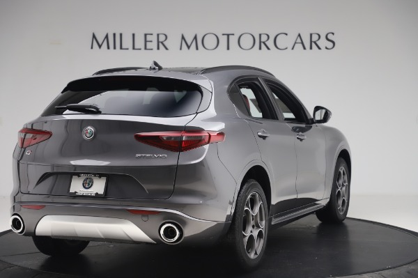 New 2020 Alfa Romeo Stelvio Sport Q4 for sale $50,945 at Rolls-Royce Motor Cars Greenwich in Greenwich CT 06830 7