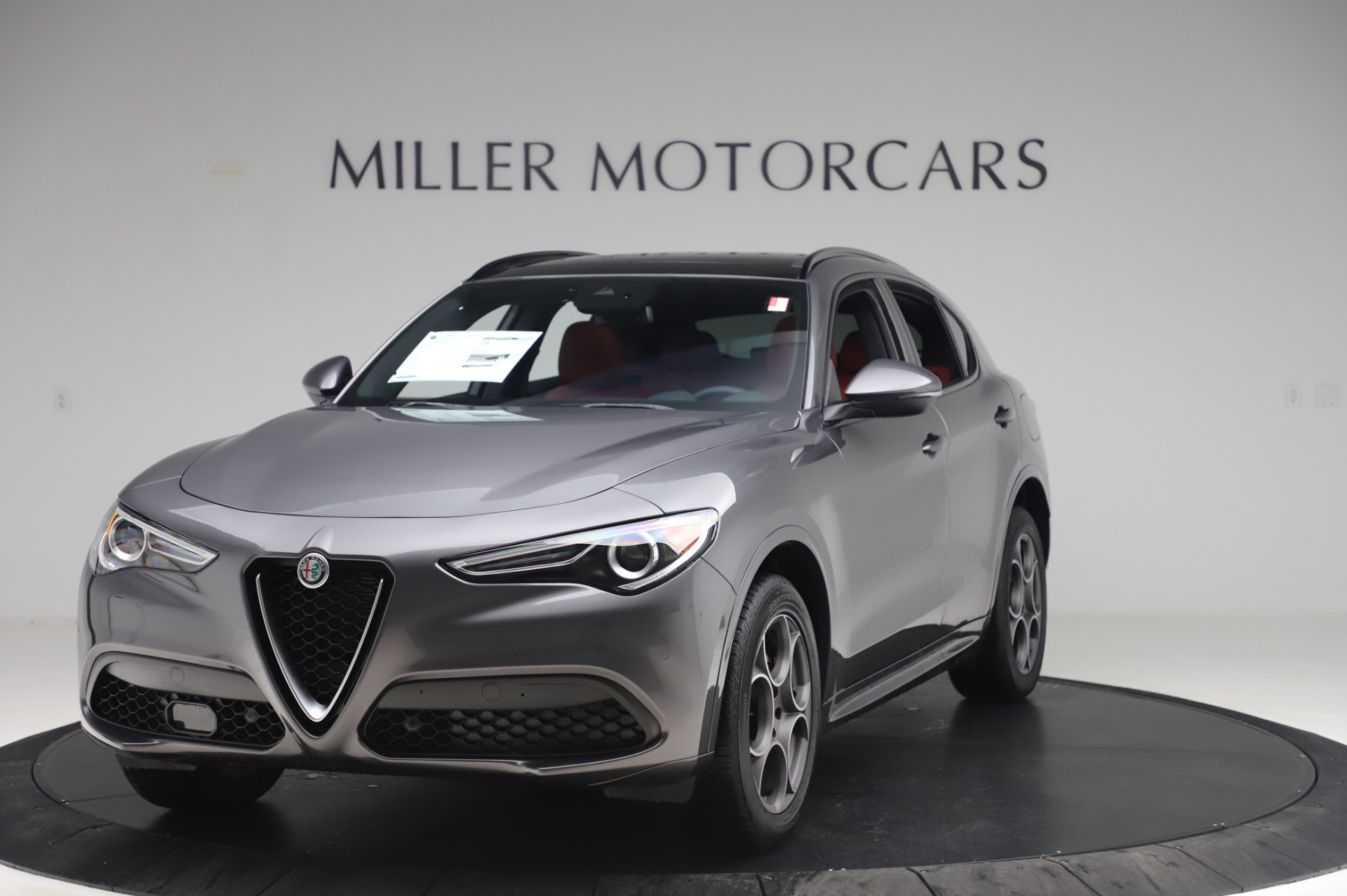 New 2020 Alfa Romeo Stelvio Sport Q4 for sale $50,945 at Rolls-Royce Motor Cars Greenwich in Greenwich CT 06830 1