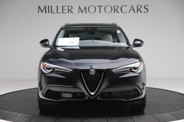 New 2020 Alfa Romeo Stelvio Ti Q4 for sale $52,895 at Rolls-Royce Motor Cars Greenwich in Greenwich CT 06830 12