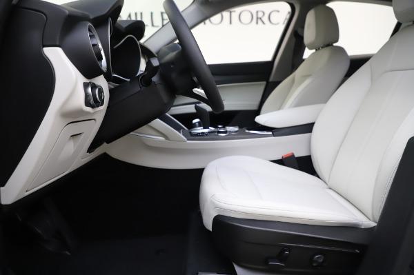 New 2020 Alfa Romeo Stelvio Ti Q4 for sale $52,895 at Rolls-Royce Motor Cars Greenwich in Greenwich CT 06830 14