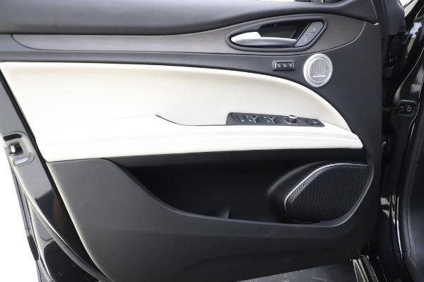 New 2020 Alfa Romeo Stelvio Ti Q4 for sale $52,895 at Rolls-Royce Motor Cars Greenwich in Greenwich CT 06830 17