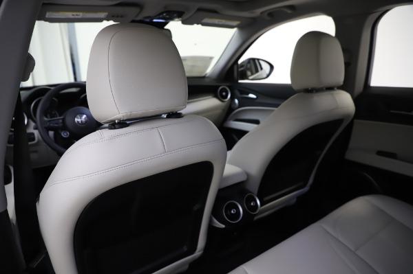 New 2020 Alfa Romeo Stelvio Ti Q4 for sale $52,895 at Rolls-Royce Motor Cars Greenwich in Greenwich CT 06830 20