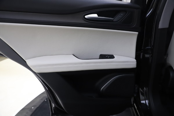 New 2020 Alfa Romeo Stelvio Ti Q4 for sale $52,895 at Rolls-Royce Motor Cars Greenwich in Greenwich CT 06830 21