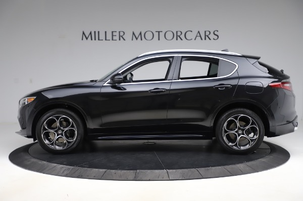 New 2020 Alfa Romeo Stelvio Ti Q4 for sale $52,895 at Rolls-Royce Motor Cars Greenwich in Greenwich CT 06830 3