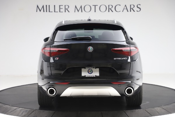 New 2020 Alfa Romeo Stelvio Ti Q4 for sale $52,895 at Rolls-Royce Motor Cars Greenwich in Greenwich CT 06830 6