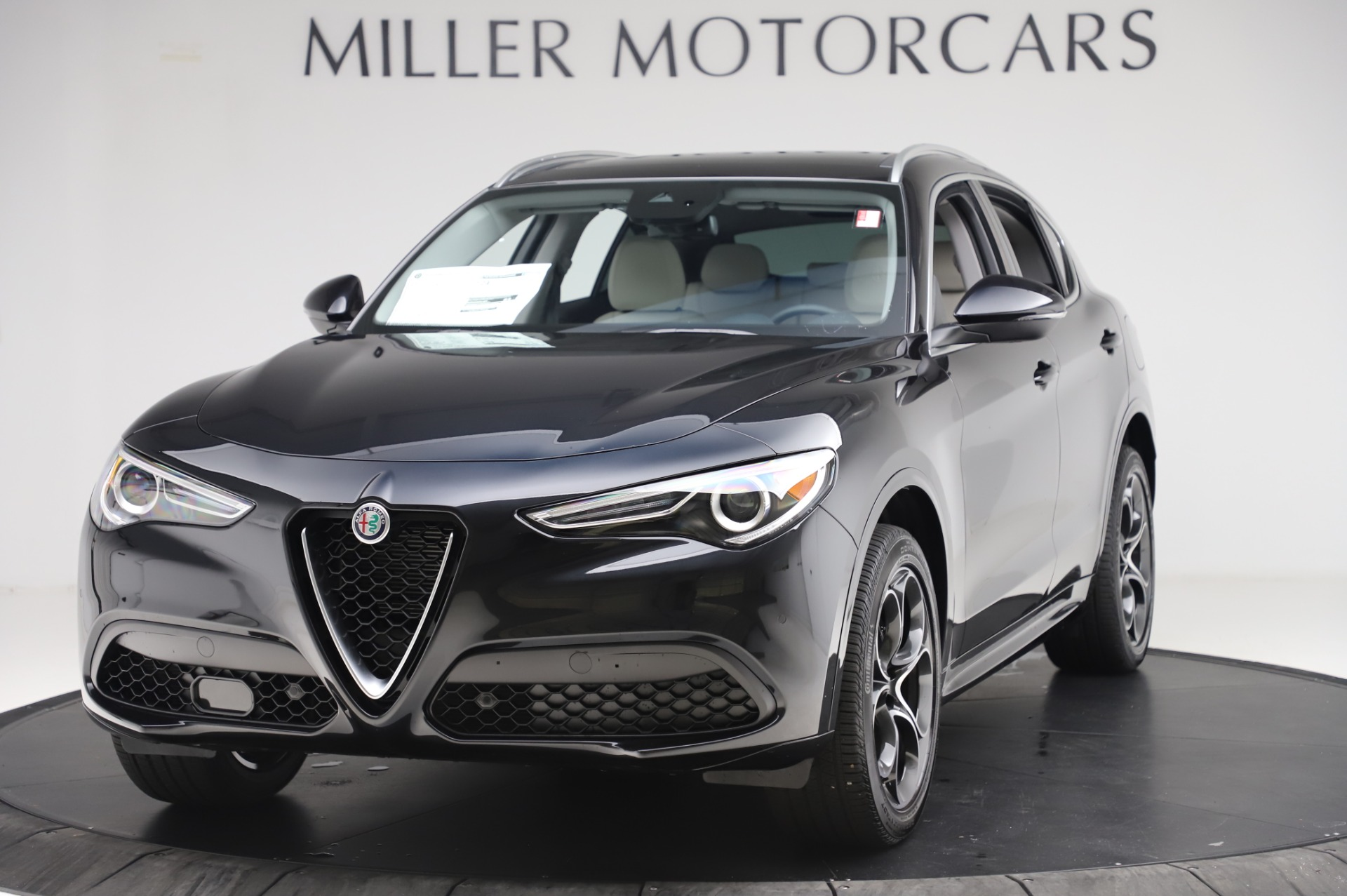 New 2020 Alfa Romeo Stelvio Ti Q4 for sale $52,895 at Rolls-Royce Motor Cars Greenwich in Greenwich CT 06830 1