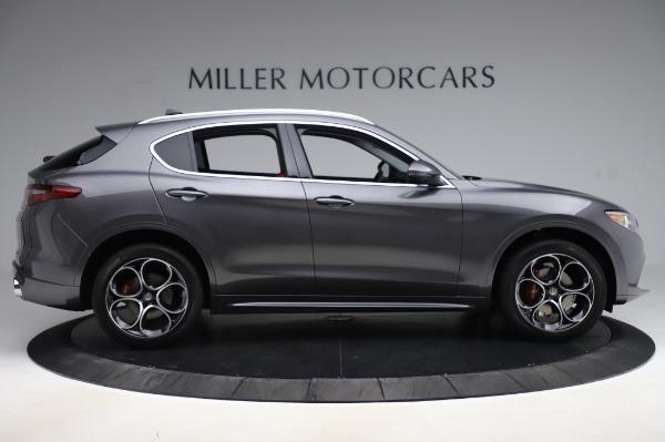 New 2020 Alfa Romeo Stelvio Ti Q4 for sale $54,095 at Rolls-Royce Motor Cars Greenwich in Greenwich CT 06830 10