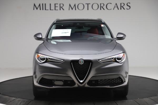 New 2020 Alfa Romeo Stelvio Ti Q4 for sale $54,095 at Rolls-Royce Motor Cars Greenwich in Greenwich CT 06830 13