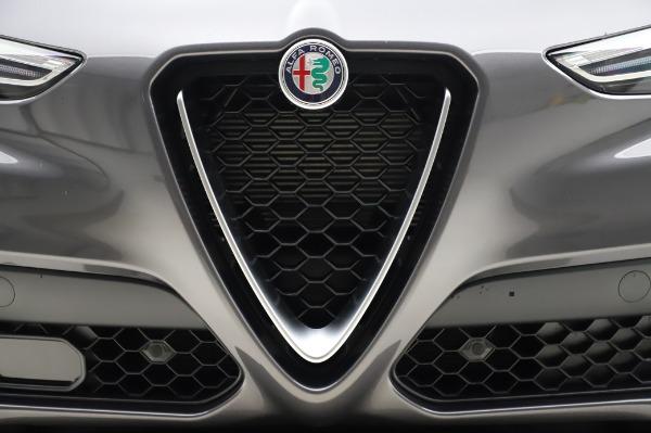 New 2020 Alfa Romeo Stelvio Ti Q4 for sale $54,095 at Rolls-Royce Motor Cars Greenwich in Greenwich CT 06830 14