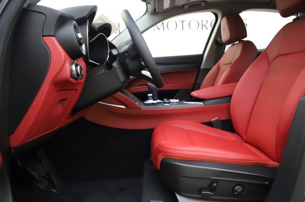 New 2020 Alfa Romeo Stelvio Ti Q4 for sale $54,095 at Rolls-Royce Motor Cars Greenwich in Greenwich CT 06830 17