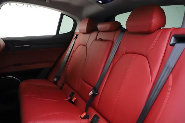 New 2020 Alfa Romeo Stelvio Ti Q4 for sale $54,095 at Rolls-Royce Motor Cars Greenwich in Greenwich CT 06830 21