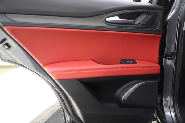 New 2020 Alfa Romeo Stelvio Ti Q4 for sale $54,095 at Rolls-Royce Motor Cars Greenwich in Greenwich CT 06830 24