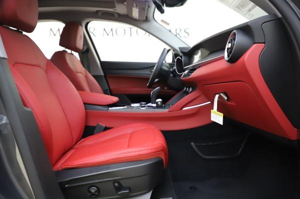 New 2020 Alfa Romeo Stelvio Ti Q4 for sale $54,095 at Rolls-Royce Motor Cars Greenwich in Greenwich CT 06830 26