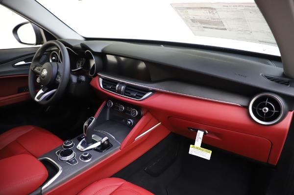 New 2020 Alfa Romeo Stelvio Ti Q4 for sale $54,095 at Rolls-Royce Motor Cars Greenwich in Greenwich CT 06830 27