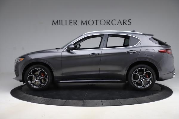 New 2020 Alfa Romeo Stelvio Ti Q4 for sale $54,095 at Rolls-Royce Motor Cars Greenwich in Greenwich CT 06830 4